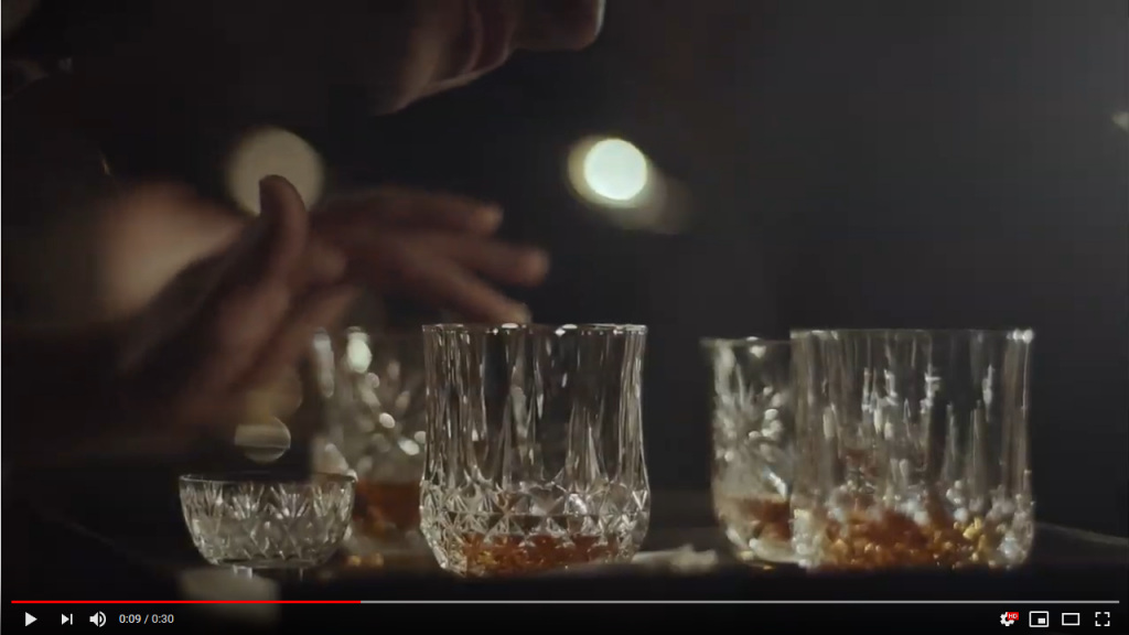 Musical Whiskey Glass