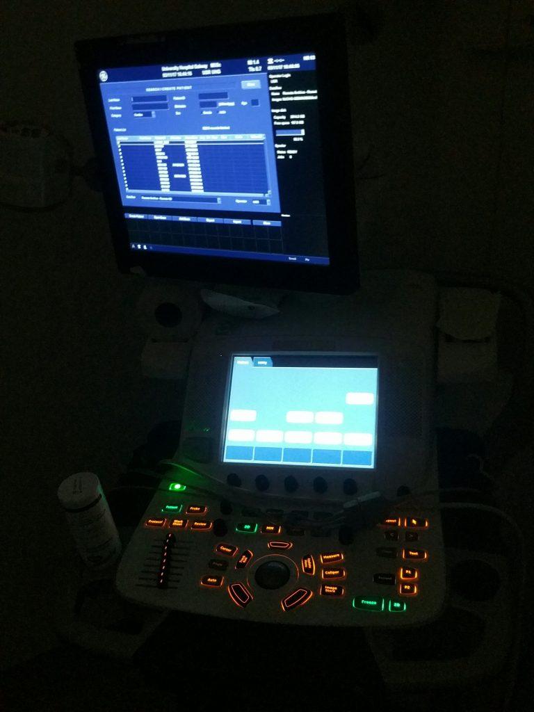 Sonocardiogram machine.